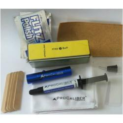 sink, tub, toilet repair kit materials - different color acrylic gels