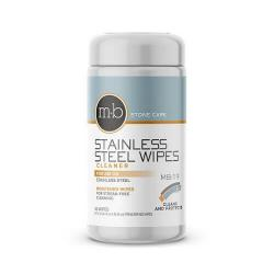 stainless steel wipes to clean, polish, and protect refrigerators and appliances