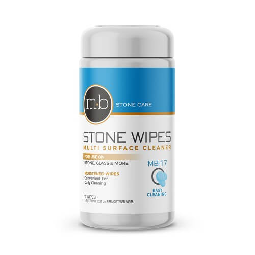 Marble Countertop Care: MB 17 Wipes: Marble & Granite Cleaner